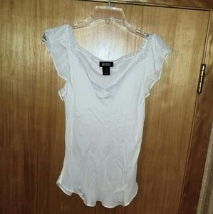 111 State silk blouse